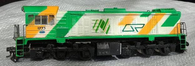 Queensland Railways 1723 - Model by BDM